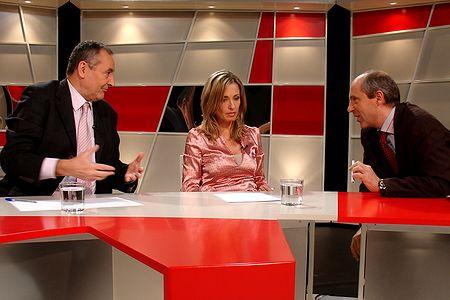 Josep Francesc Valls, Elisenda Camps y Guillem Recolons